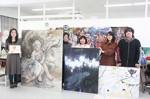 卒業修了展の出品者と、個性溢れる出品作品