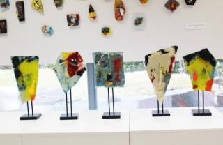 コムデシオのガラスアート作品