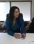 理事長・平沢美奈子さん 三重県出身。食に関するコンサルティングなどを行う㈱ジェムフーディーズ(東京)の代表取締役社長。子供の小麦アレルギーを機に約8年前から米粉の普及活動を始め、2019年1月同社を設立。同年6月に「三重県の米粉を普及する会」を発足した。