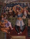 清水登之《ロシアダンス》 1926年、三重県立美術館蔵